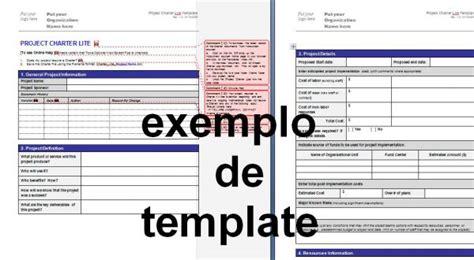 termo de abertura do projeto simplificado templates de