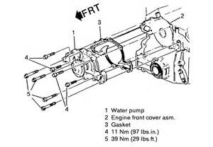 1993 pontiac grand am gt what bolt timing chain water diagram