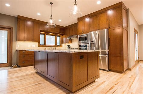 kitchen island length spacious kitchen and dining area with solid cherry wood