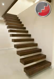 Floating Stairs Design Floating Staircases Black Walnut Floating Staircase