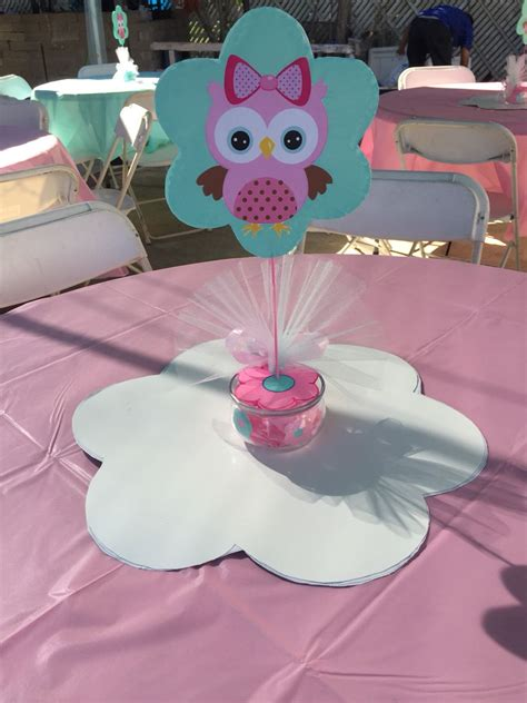 Baby Owls For Baby Shower by Centerpiece Pink Baby Owl Pink Baby Owl Baby Shower