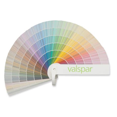 valspar 1750 color paint fan deck color palettes