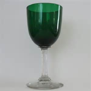 Small Black Vase Victorian Green Wine Glass Retro 551 163 10 00 Retro
