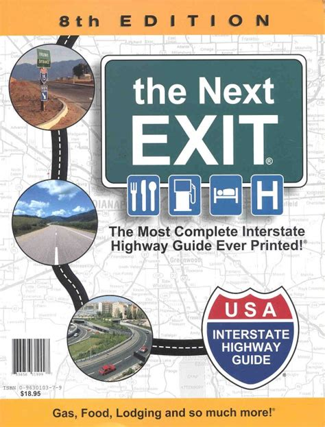 the next exit 2018 books roy s rving books info