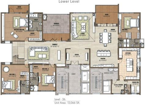 5 bhk duplex floor plan 12066 sq ft 5 bhk floor plan image prestige group white meadows available for sale proptiger com