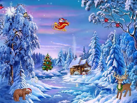 free christmas screensaver christmas symphony