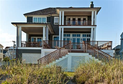 beach style house new construction atlantic beach ocean front home beach