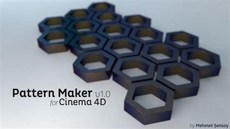 pattern maker plugin cinema 4d pattern maker preset plugins pinterest