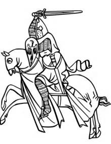 coloring pages of knights and horses on coloring page free printable coloring pages