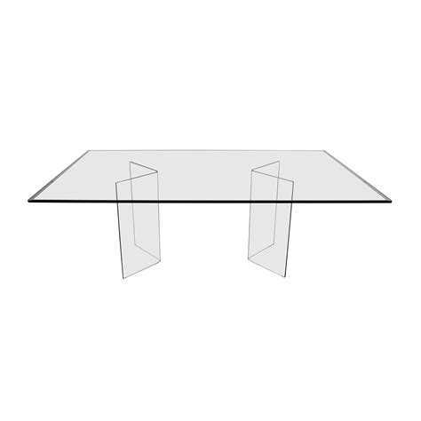 rectangle glass table base rectangle glass dining tables coaster bloomfield