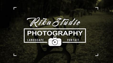 membuat watermark photography cara membuat logo photography menggunakan photoshop youtube