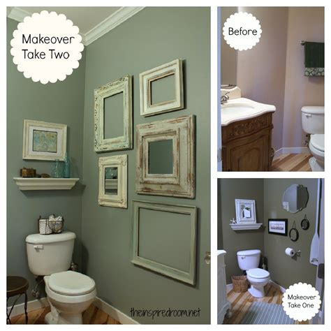 room makeovers powder room take two 2nd budget makeover reveal the