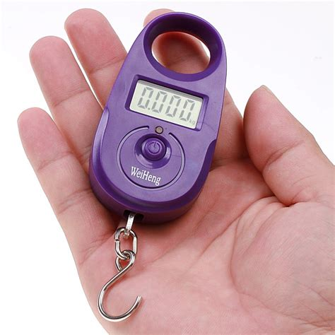Portable Mini Lcd Electronic Digital Scale Hanging Fishing Hook 5 T19 1 25kg 5g mini digital scale portable hanging luggage scale accurate fishing weighing scale pocket