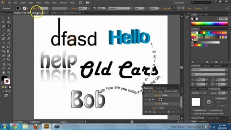 adobe illustrator cs6 justify text adobe illustrator cs6 cc text basics text tool