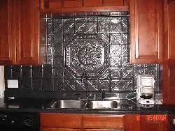 faux tin kitchen backsplash decorative ceiling tiles