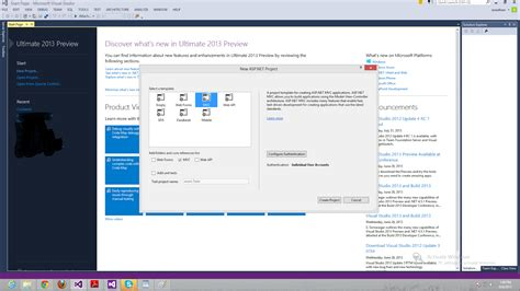 design html visual studio 2013 create mvc4 project in visual studio 2013