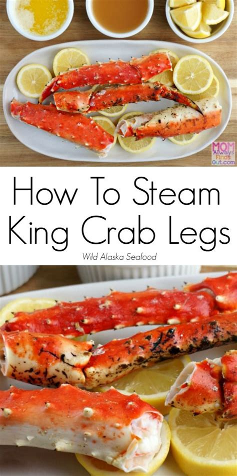 how to steam king crab legs recipe