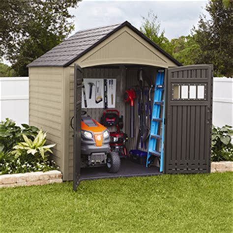 Rubbermaid Garden Sheds by Rubbermaid Roughneck Plastic Small Outdoor Storage Shed 53 Cubic