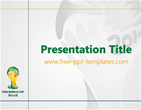powerpoint templates 2014 world cup ppt template free powerpoint templates
