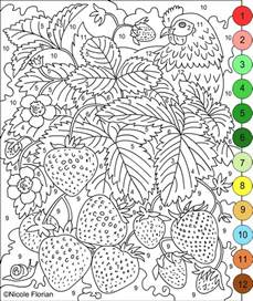 pictures to color for adults free coloring pages of color by number