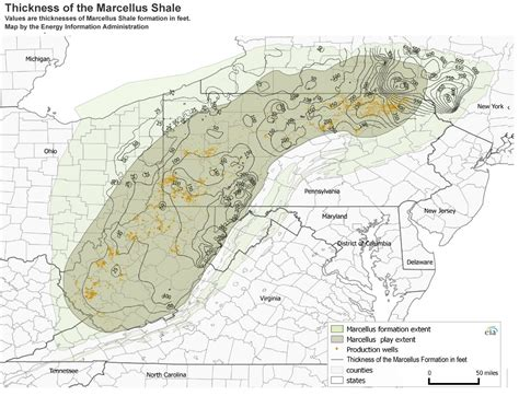 united states shale map marcellus shale results continue to amaze geologists