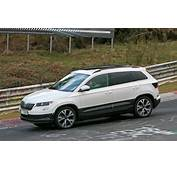 Skoda Karoq Mini SUV Revealed Spy Photos By CAR Magazine