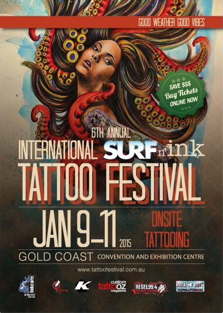tattoo expo gold coast 6th annual international surf n ink tattoo festival