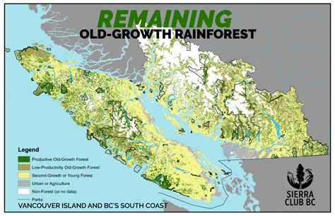 Vancouver Island vancouver island growth logging rate will lead to