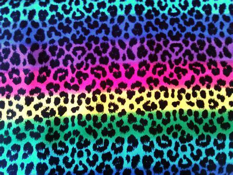 print a wallpaper neon rainbow animal print backgrounds