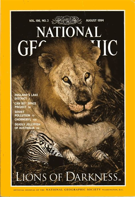 lion film national geographic national geographic august 1994 lions of darkness