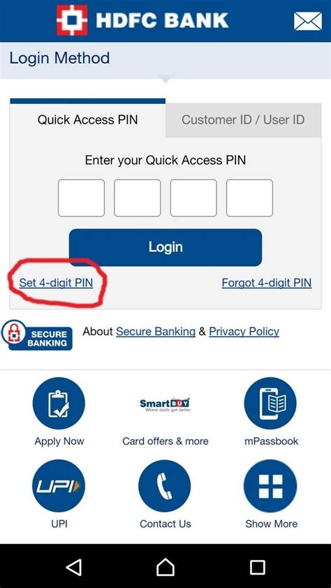reset online banking password hdfc hdfc credit card pin number change infocard co