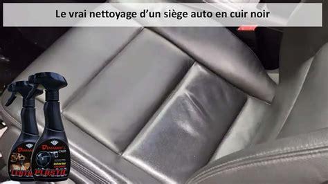 nettoyage siege cuir nettoyage d un si 232 ge auto en cuir noir