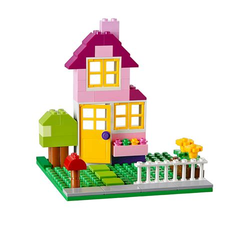 how to build lego house pink 2 story house booklets building instructions classic lego com
