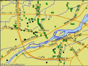 Maumee Ohio Map by Maumee Ohio Oh Profile Population Maps Real Estate