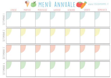tabella alimentare settimanale i vantaggi dell organizzazione dei pasti e tutto il