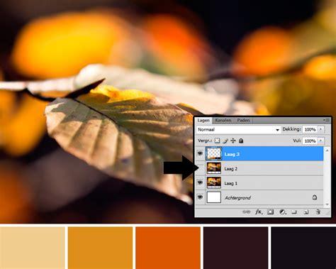 tutorial website maken photoshop tutorial kleurenpalet maken fotografille nl
