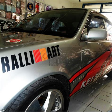 Sticker Stiker Wiper Mobil Mitsubishi 2 Buah foto ralli 2015 2017 2018 best cars reviews