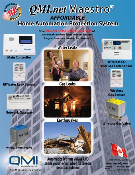 maestro home automation protection system qmi
