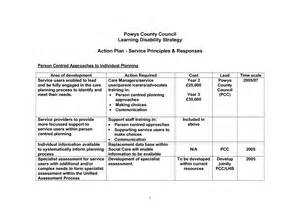 care plan template learning disability