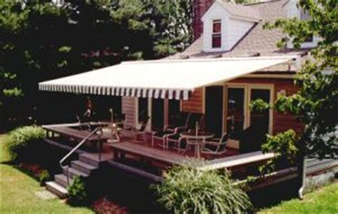 awning over deck patio awnings lateral arm patio deck commercial