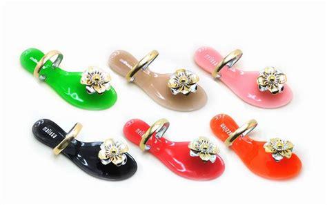 Ribbon Sandal Import Hk Korea Slipper Flip Flop Slip On flip flops slippers pvc slippers s slippers sandals