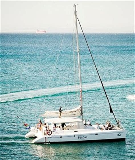 boat cruise from cape town to durban peroni catamaran yacht boat charter cape town