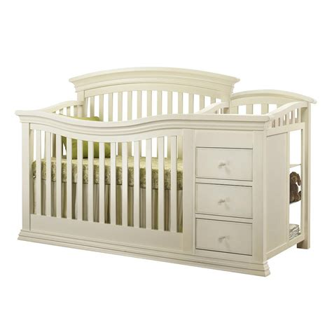 Baby Cribs With Changer Sorelle Verona Crib And Changer In French White Crib N
