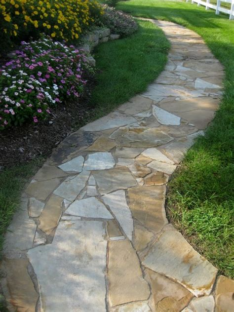 Rock Walkways And Patios by Rock Walkways Ks Landscape Design Rock Work