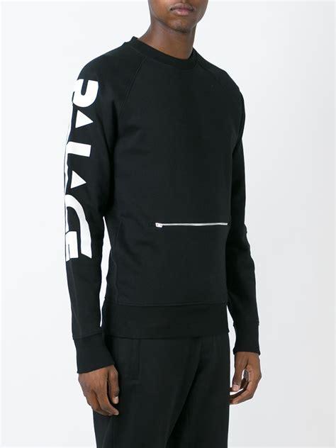 Hoodie Sweater Motor palace motor sweatshirt in black for lyst