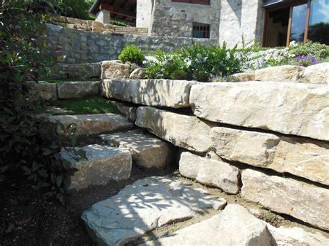 muri a secco per giardini muri a secco e giardini rocciosi in pietra di credaro