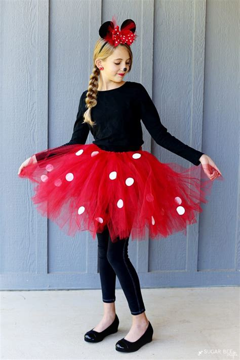 Handmade Minnie Mouse Costume - diy minnie mouse costume yep no sew sugar bee crafts