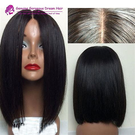 human hair wigs with scalp part down middle curly middle part human hair short bob wigs for black women