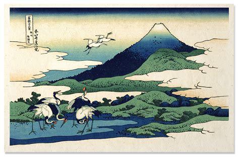 Quot Cranes At Mt Fuji Quot