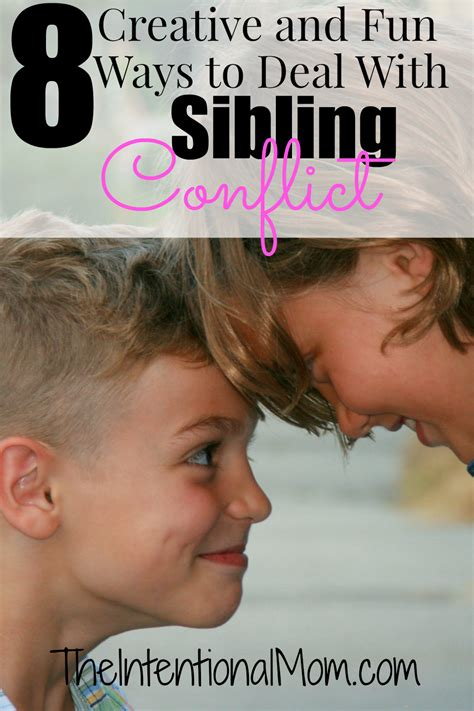 8 Ways To Deal With Newspaper by 8 And Creative Ways To Deal With Sibling Conflict